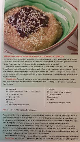 Amaranth-Hemp Porridge