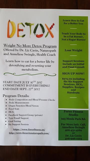 Weight no more detox